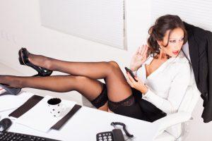 Donne mature al telefono